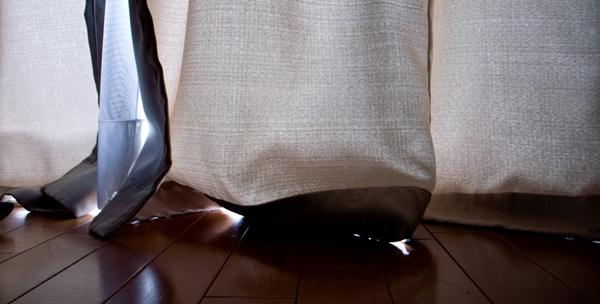 一人暮らし用のカーテン