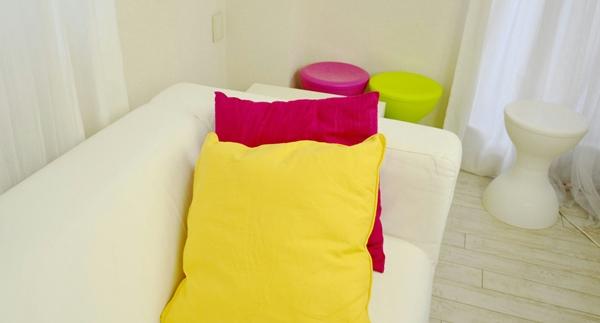 一人暮らし用のソファ